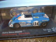 MATRA SIMCA MS650 G. LARROUSSE-J.RIVES TOUR AUTO 1971 SCALA 143