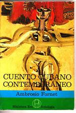 Cuento Cubano Contemporaneo Ambrosio Fornet