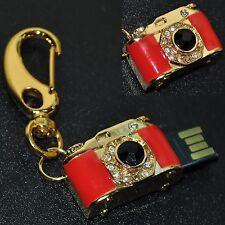 Chiavetta USB 8 GB GIOIELLO Videocamera PORTACHIAVI TASCABILE MACCHINA FOTO
