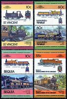 LONDON BRIGHTON & SOUTH COAST RAILWAY (LB&SCR / SR) Collection GB Train Stamps