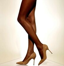 D L Suntan Gloss Tights Shiny Showgirl Cross Dresser Peavey Holiday Lingerie Wedding & Formal Occasion