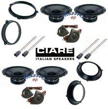 CIARE Set 8 arcas x FIAT PANDA 03>12 con adaptadores Y SOPORTES