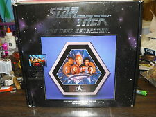 STAR TREK THE NEXT GENERATION SPECIAL COMMEMORATIVE EDITION PORCELAIN PLAQUE
