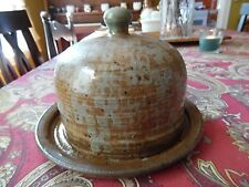Vintage Stonewear Cheese Dish