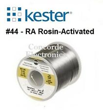 """Kester 24-6337-0039 Sn63/Pb37 .040""""  #44-Rosin 3.3%  1-Lb SPOOL * FREE SHIPPING*"""