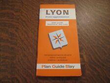 plan guide lyon et son agglomeration