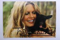 Brigitte Bardot Autogrammkarte Autograph