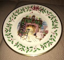 Lenox 1999 Winter's Warmth 9th Annual Christmas Holiday Plate
