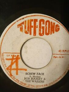 "Bob Marley & The Wailers ‎– Screw Face / Face Man - 7"" Vinyl Single 1971"