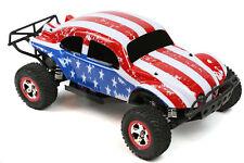Custom Buggy Body American Flag for Traxxas Slash 1/10 Shell Baja 6811 Truck Car