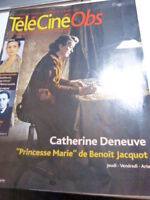 Télé Ciné Obs 2051 de 2004 Catherine Deneuve (car05)
