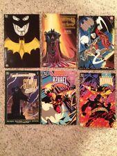 BATMAN LOT 6-1989-GOTHAM,1991 FULL CIRCLE,HOLY TERROR,MASTER OF FUTURE,SWORD VF+