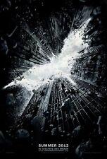 Batman The Dark Knight Rises Adv A Original Theater DS Movie Poster 27x40