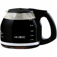 Mr. Coffee Carafe 12-Cup Stainless Steel Black