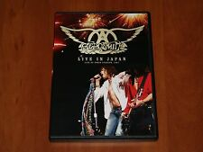 AEROSMITH LIVE IN JAPAN TOKYO 2002 DVD NEW Def Leppard Bon Jovi