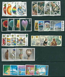 GB 1987 Complete Commemorative Collection Under Face Value BEST BUY on eBay MNH