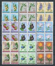 YUGOSLAVIE FLEURS - 1961 YT 843 à 851 blocs - STAMPS OBL. / USED - COTE 32,00 €