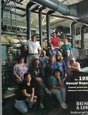 Bausch & Lomb 1992 Annual Report Healthcare & Optics