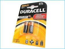 BATTERY DURACELL MN21 PCS 2 ALKALINE SECURITY 12V REMOTE CONTROL ANTITHEFT A23