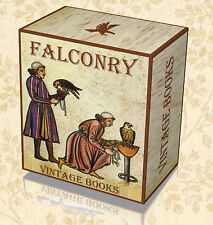 124 Rare Falconry Hawking Books Library on DVD - Birds of Prey Falcon Raptors 46