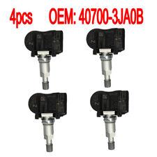 4PCS Tire Pressure Sensor TPMS 40700-3JA0B For Nissan Altima Murano Pathfinder
