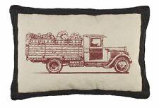 Farmer's Market Truck Pillow