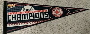 MLB BOSTON RED SOX 2007 ALC CHAMPIONS PENNANT