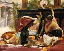 Cleopatra by Alexandre Cabanel Egyptian Queen Slave Girl   8x10 Art Print 0996