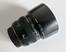 Canon EF 50mm f/1.4 USM Prime Lens w/ both Caps & Hood for Canon SLR