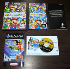 Jeu MARIO PARTY 4 sur Nintendo GameCube GC 100% complet