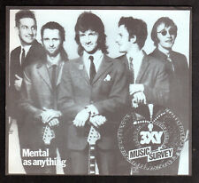 3XY TOP 40 MUSIC SURVEY CHART - MENTAL AS ANYTHING  October, 1979