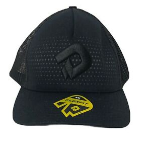 DeMarini D Logo USA Baseball/Softball Trucker Hat Black Flex Fit Small Medium