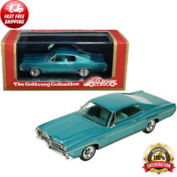 1968 Ford Galaxie 500 XL Gulfstream Aqua Metallic 1/43 Model Goldvarg Collection