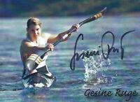 Gesine RUGE - Deutschland, Gold WM 2007 Kanu, Original-Autogramm!