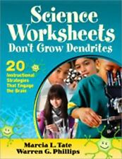 Science Worksheets Don′t Grow Dendrites: 20 Instructional Strategies That