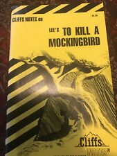 Cliffs Notes On To Kill A Mockingbird