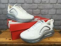 NIKE LADIES AIR MAX 720 WHITE SILVER TRAINERS VARIOUS SIZES RRP £155 T