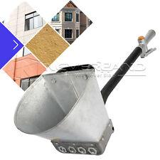 4 Jet Cement Mortar Sprayer Hopper Stucco Spray Gun Concrete Tool Paint Wall NEW