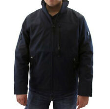 NWT TUMI XL coat jacket hooded zip-up water resistant dark navy rain men's