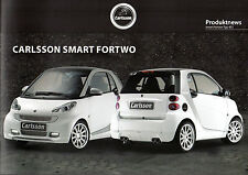 Carlsson SMART forum ACCESSORI 2010/11 mercato tedesco BROCHURE DI VENDITA