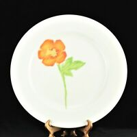 "Villeroy & Boch MADEMOISELLE Dinner Plate 10 1/2"" Left Facing Flower - EUC"