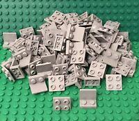 Lego X100 New Light Bluish Gray Bracket 1 x 2 - 2 x 2 Inverted Bulk Part #99207
