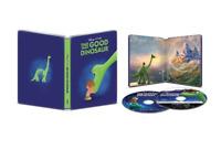 The Good Dinosaur (4K Ultra HD, Blu-ray, Digital, Steelbook) Brand New