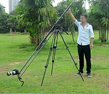 270cm Aluminum Portable Camera Retractable Crane Jib Boom Rock Arm  for Video
