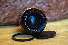 Nikon NIKKOR 28mm/f/2.0 Fast Wide Lens