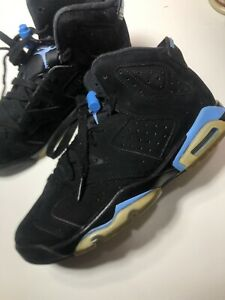 air jordan 6 black Baby Blue Size 5.5y