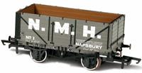Oxford Rail 76MW7031 OO Gauge 7 Plank Wagon Napsbury No 1