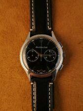Vintage Excelsior Park 04 chronograph Black Glossy Dial Steel Case