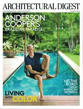 Architectural Digest - Anderson Cooper's Brazilian Paradise - Color AUGUST 2016