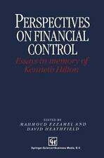 Perspectives on Financial Control: Essays in Memory of Kenneth Hilton-ExLibrary